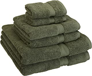 Best dark forest green bath towels Reviews