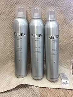 Kenra Design Spray, Light Hold [9] 10 oz (Pack of 3)