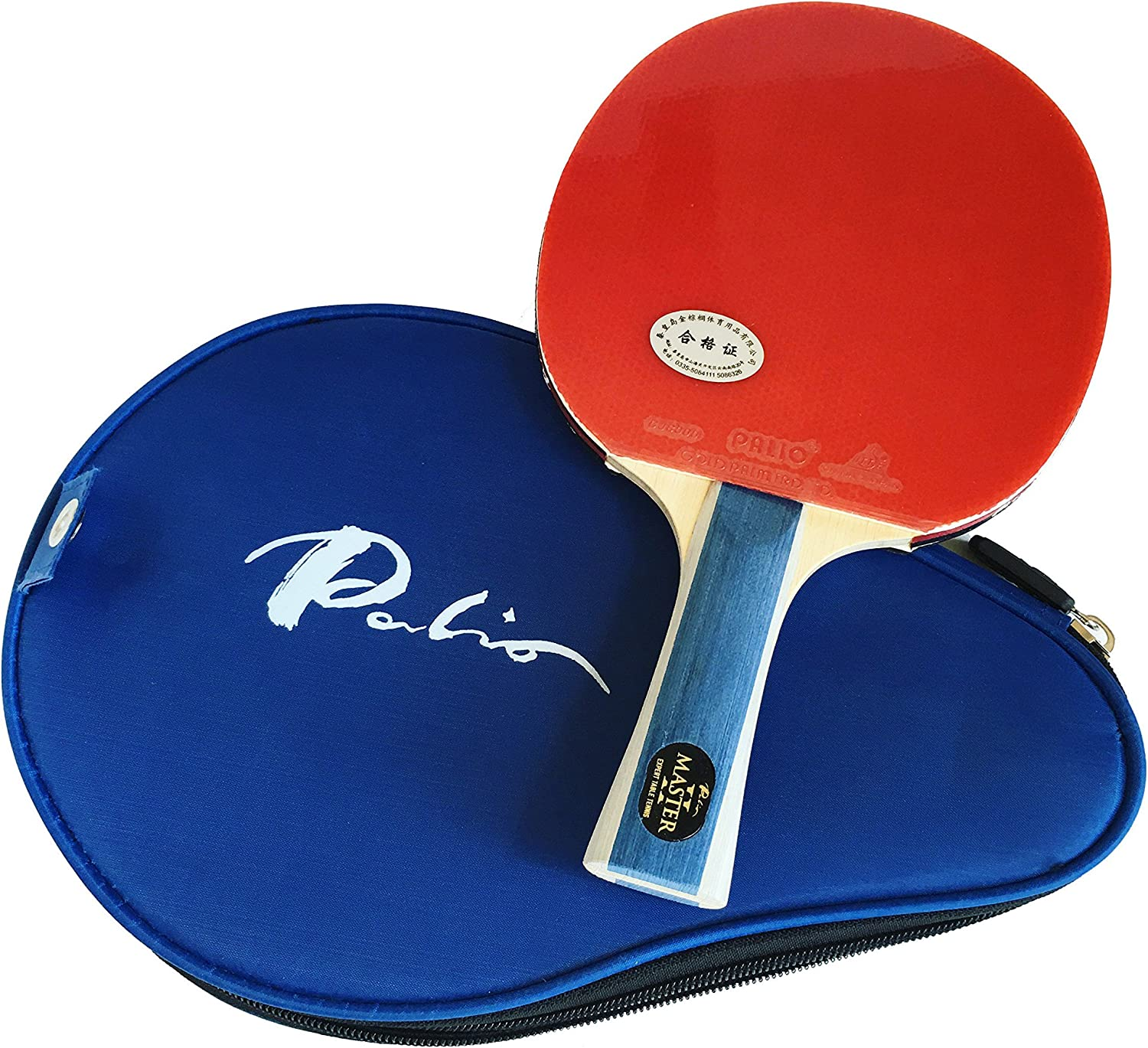 Milwaukee Mall Palio Master 2.0 Table Tennis Racket Fl Popular Case ITTF - Approved