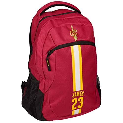d278fd62657ff Cleveland Cavaliers LeBron James #23 Action Backpack