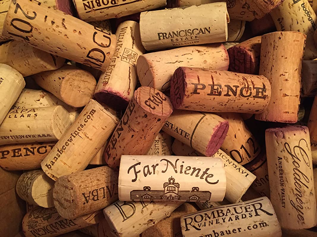 Premium Recycled Corks Natural Wine Corks From Around The US 50 Count