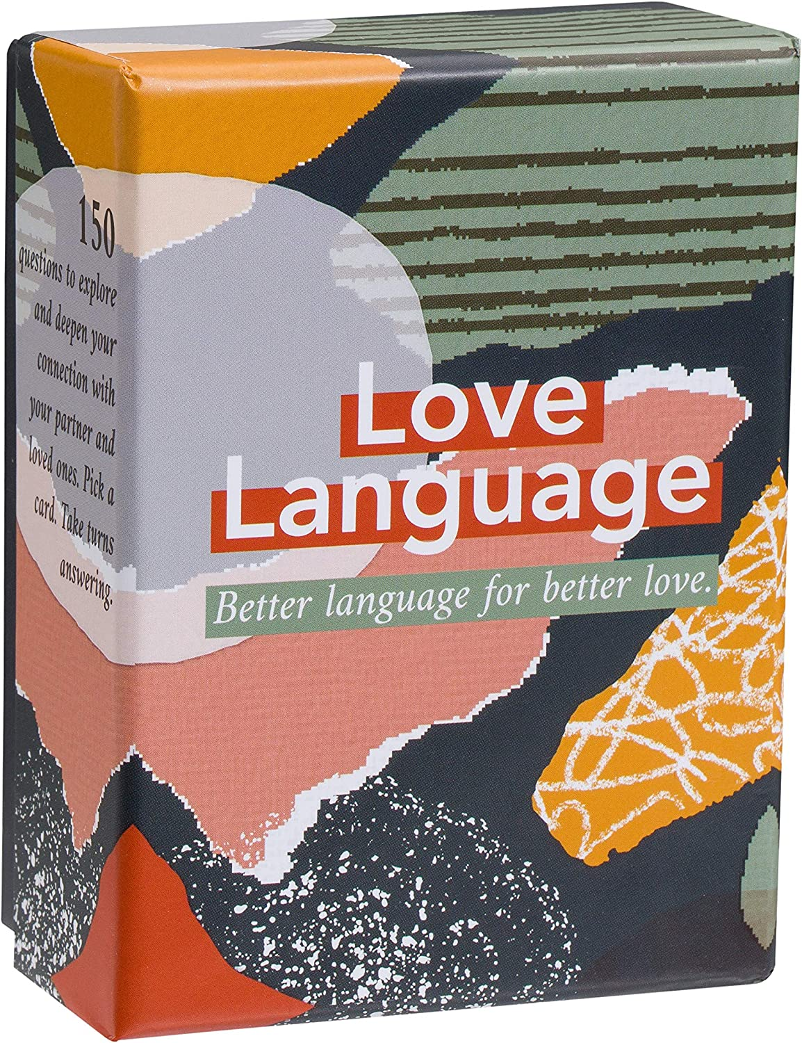 Love Language: Card Game - 150 Conversation Starter Questions for Couples - To Explore & Deepen Connections with your Partner - Date Night & Relationship Cards