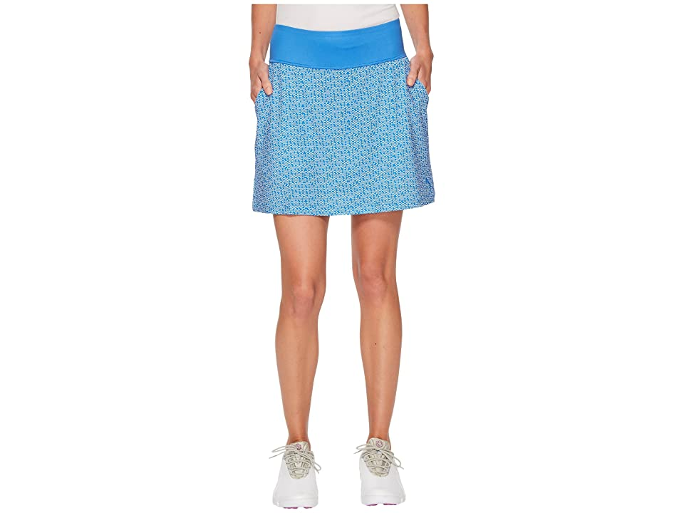 PUMA Golf PWRSHAPE Polka Dot Knit Skirt (Nebulas Blue) Women