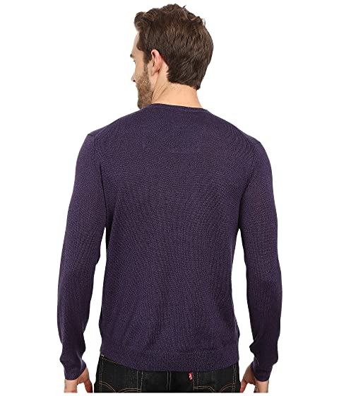 Solid Merino Klein V Neck Calvin Sweater 5nH4anx