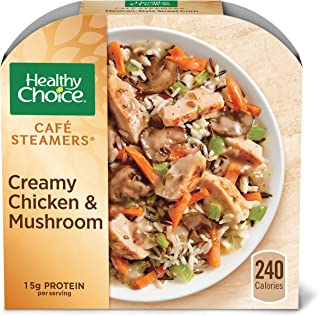 Healthy Choice Café Steamers Creamy Chicken Mushroom Frozen Meal, 9.25 oz.