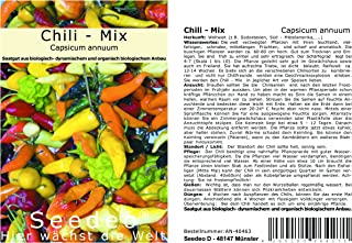 Seedeo Chili - Mix Capsicum annuum 30 Samen