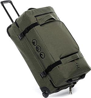 Grande borsa da viaggio con 2 ruote, 80 cm, XL da 140 litri. (Verde) - 80001750