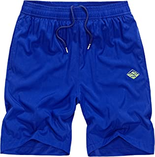 Vcansion Men's Quick Dry Board Shorts Plain Trunk Swimming Shorts