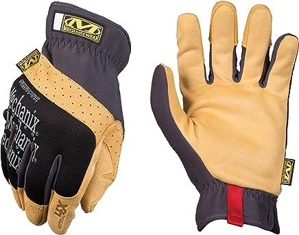 Mechanix Wear Men's FastFit Material4X Gloves Black/Tan size L