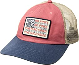 Vineyard Vines - Low Pro Vineyard Vines Flag Patch Trucker