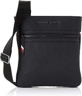 Tommy Hilfiger Men's Essential Crossover Logo Bag Essential Crossover Logo Bag, Black, One Size