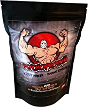 Psycho s Pure Whey Protein Concentrate 5KG – Choose From Four Amazing Milkshake Good Flavours – 80 Pure Protein Slasher Strawberry Cream Estimated Price : £ 59,95