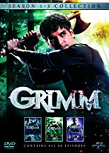 Grimm: Season 1 - 3 Collection [Edizione: Regno Unito] [Italia] [DVD]