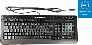 New Alienware Dell French Canadian/English Slim Black USB Keyboard Sk-8165 D1PT0