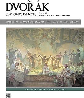 Slavonic Dances, Op. 46: Piano Duet (1 Piano, 4 Hands) (Alfr