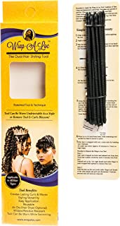 Wrap-A-Loc Experience The Dual Hair Styling Tool Tool Versatility & Technique Creates Lasting Curls Size Medium Instructions included