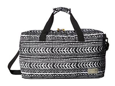 HEX Aspect Duffel (Black/White/Global Stripe) Duffel Bags