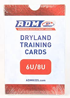 American Development Model Hockey Dryland Training Cards 6U/8U