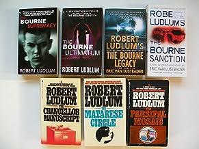 Bourne Supremacy, Ultimatum, Legacy, Sanction; Chancellor Manuscript; Matarese Circle (7 Set)