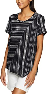 Jag Women's Riley Mix Stripe Tee