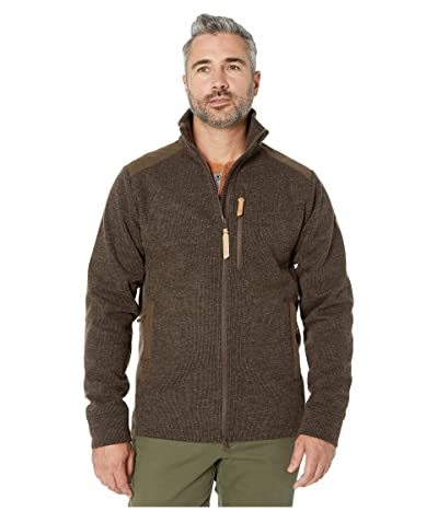 Fjallraven Singi Fleece Jacket (Dark Olive) Men