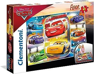 Clementoni - 25455 - Puzzle de Sol - Cars 3- 40Pièces - Disney