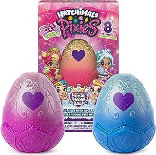 해치멀 픽시 로얄 2팩 Hatchimals, Pixies Royals 2-Pack, 2.5-Inch Collectible Dolls and Accessories, for Kids Aged 5 and Up