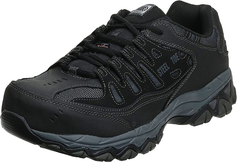 Skechers for Work 77055 Cankton Athletic Steel Toe work sneaker