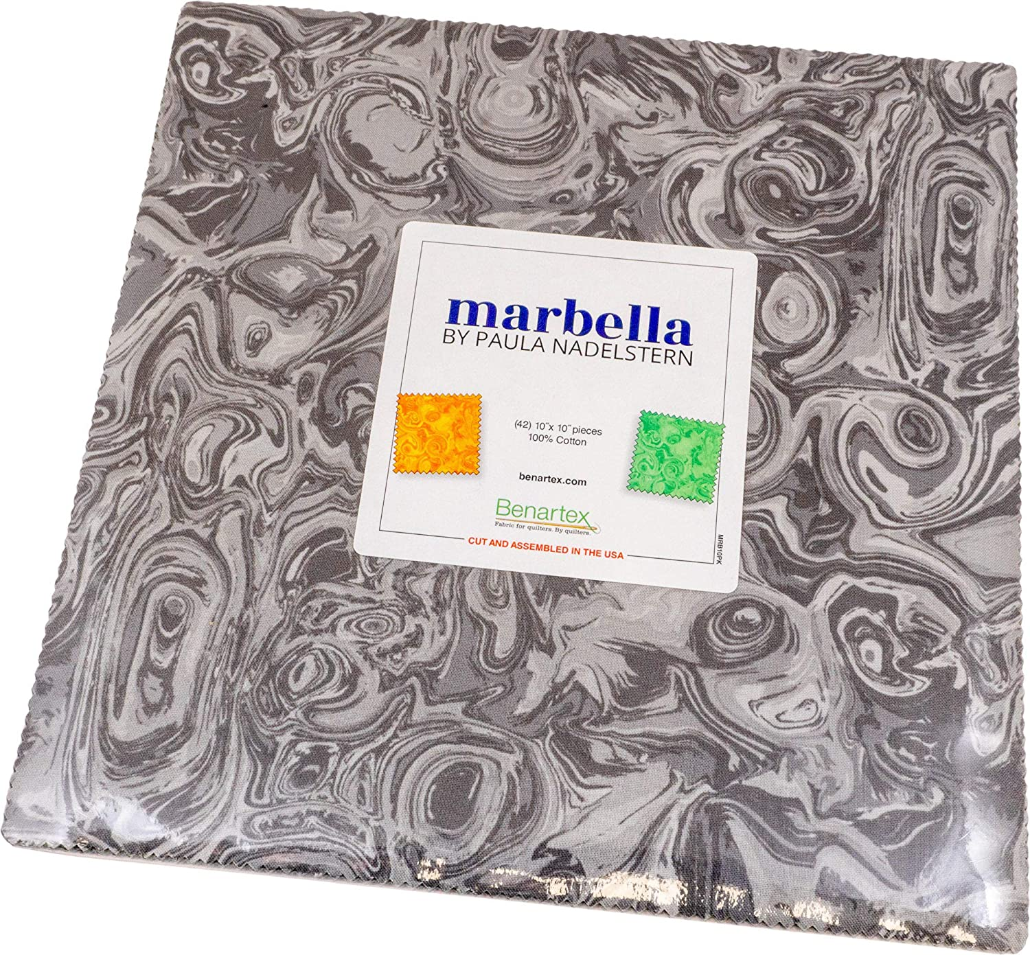 Paula Nadelstern Marbella 10X10 Pack 42 Squares ! Super beauty product restock quality top! 2021 Ca 10-inch Layer
