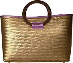Large Bamboo Shopper