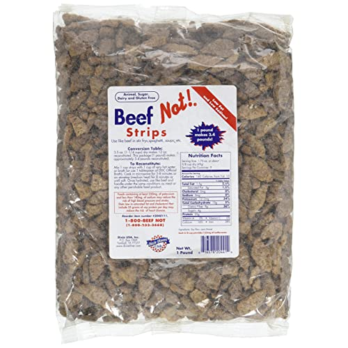 Dixie Diners' Club - Beef (Not!) Strips (1 lb bag)