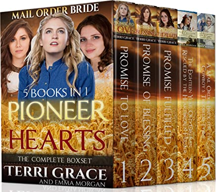 Pioneer Hearts 5 Book Inspirational Boxset: New Edition