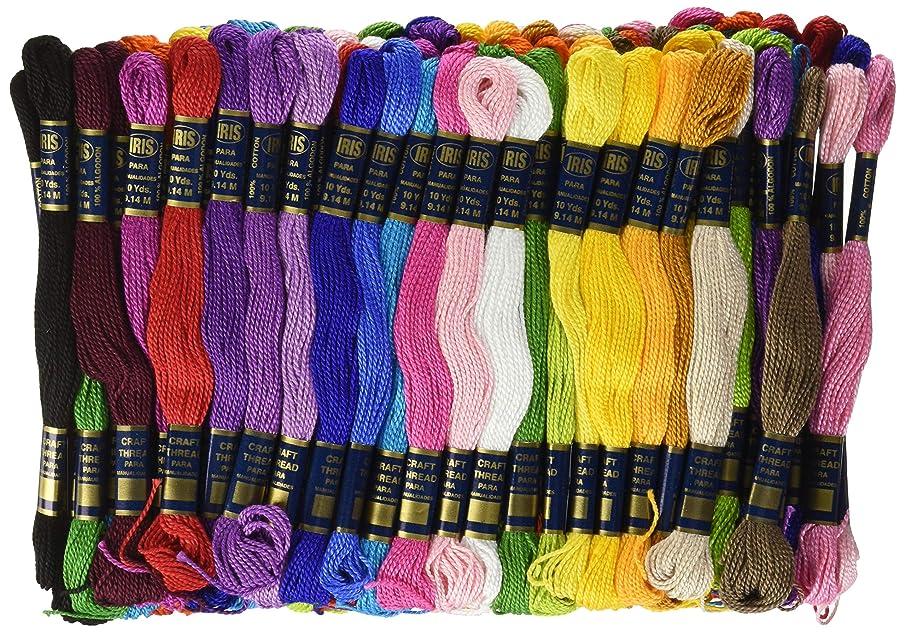 Iris Craft Thread Giant Pack, Multicolor, 105-Pack ezxi302552
