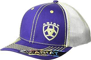 ARIAT Women's Offset Logo Mesh Snap Cap