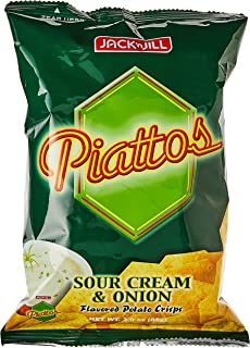 Jack N Jill Piattos Potato Crisps Sourcrm And Onion - 85 gm