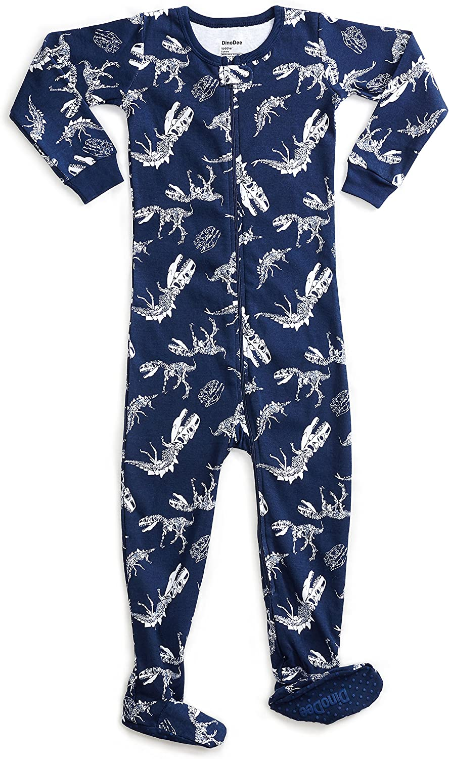 6 Months-5 Toddler DinoDee Baby Boys Footed Pajamas Sleeper 100/% Cotton Kids Pjs