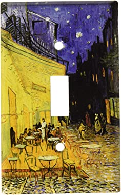Art Plates - Van Gogh: The Cafe Terrace Switch Plate - Single Toggle