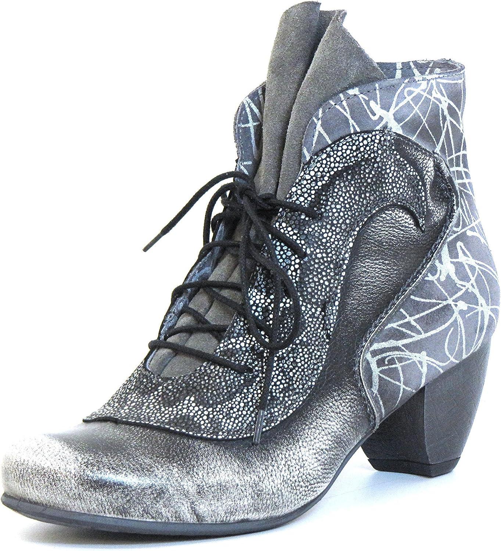 Women Ankle Boots Grey, (grey-Kombi) 9065 grey