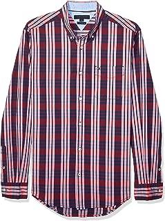 Men's Long Sleeve Button Down Woven Shirt
