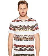 Missoni - Mare Printed Rigata T-Shirt