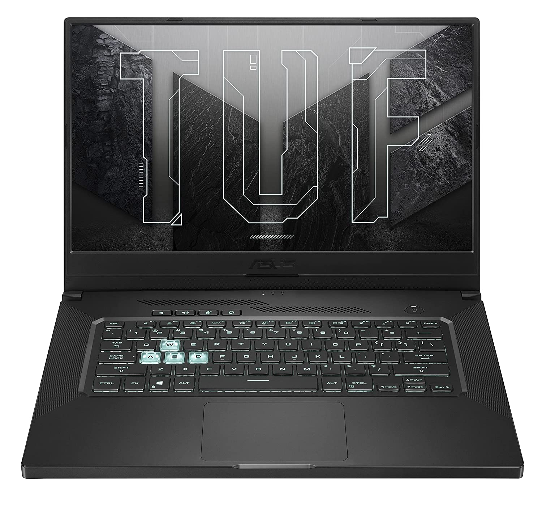 "ASUS TUF Dash 15 (2021) Ultra Slim Gaming Laptop, 15.6"" 144Hz FHD, GeForce RTX 3050 Ti, Intel Core i7-11370H, 8GB DDR4, 512GB PCIe NVMe SSD"