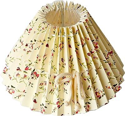 Better /& Best 0208203/ de 20/cm //écran de lampe fran/çaise avec dessin de fleurs sur fond jaune clair