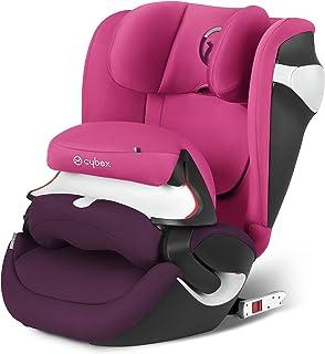 Cybex Juno M-fix - Silla de coche, grupo 1 (9-18 kg, desde los 9 meses a 4 años aprox.), color Mystic pink