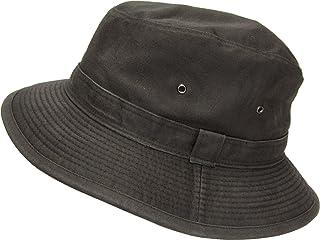 [ろしなんて工房] 帽子 サファリハット SP387 ユーズドwash325 大きいサイズOK [日本製]