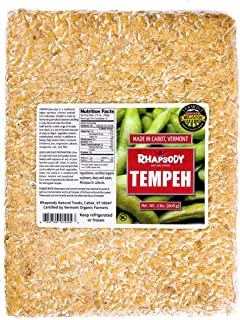 TEMPEH - Organic, Made in Vermont, 32 oz (2 Lbs) - case of 5