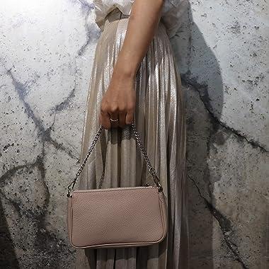 SH Leder Echtleder Schultertasche Umhängetasche Handtaschen Clutch kleine Tasche Abendtasche 23x13cm Jennie G323