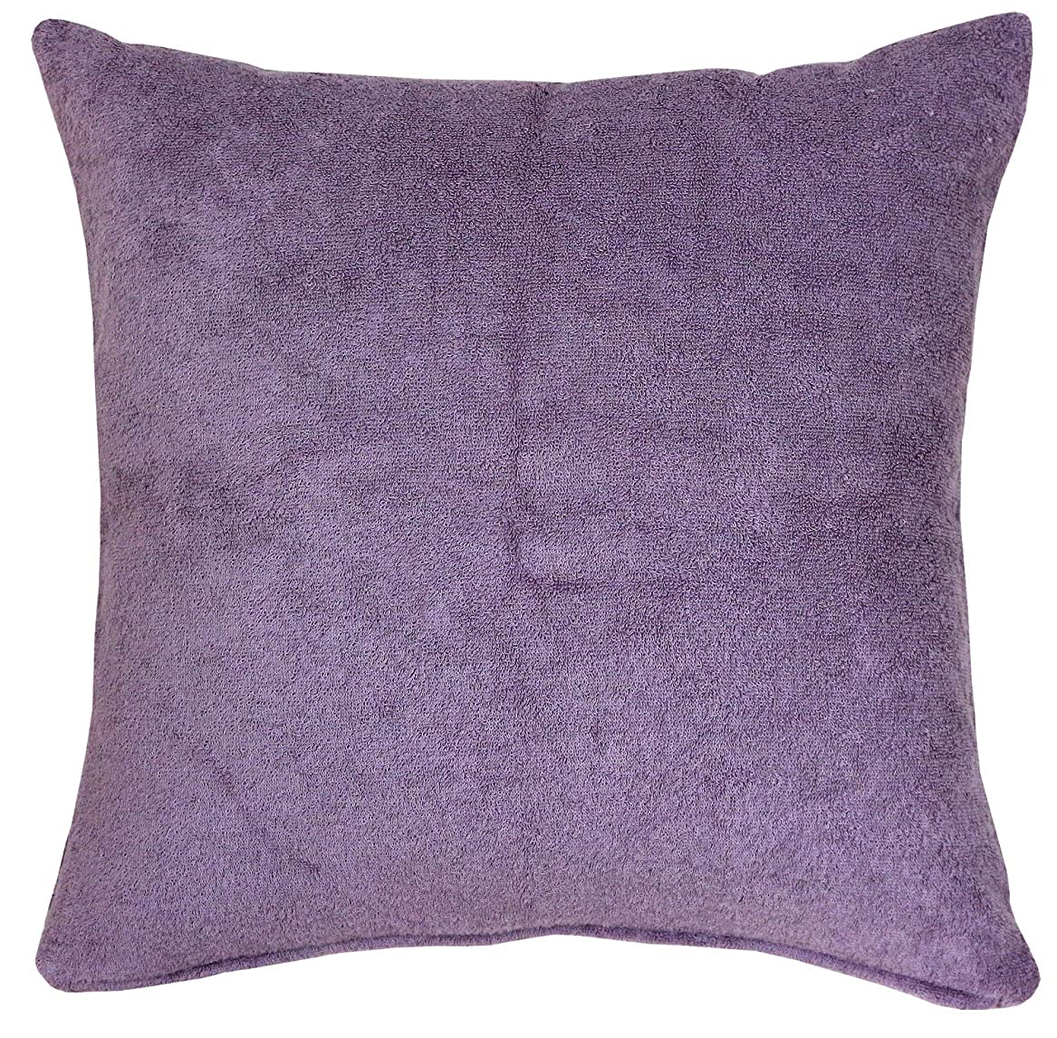 早く日付付きオリエンタル[ imabari textile ]を使用した クッションカバー45×45cm ジェラート パープル