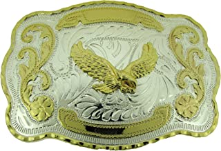 RIDE AWAY Rodeo Soaring Eagle Western Style Gold/Silver Color Multiple Size/Shape Belt Buckles