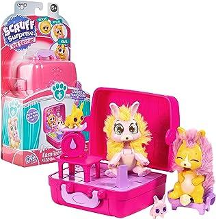 Little Live Pets Scruff Surprise Vet Rescue - Feeding Set with Bunny Family - Mini Collectible Scruff-a-Luvs, Multicolor, ...