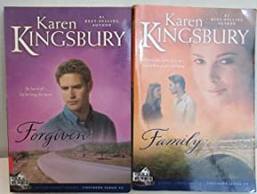 Karen Kingsbury Two Book Bundle Of The Firstborn Series Includes: Book #2 - Forgiven and Book #4 Family